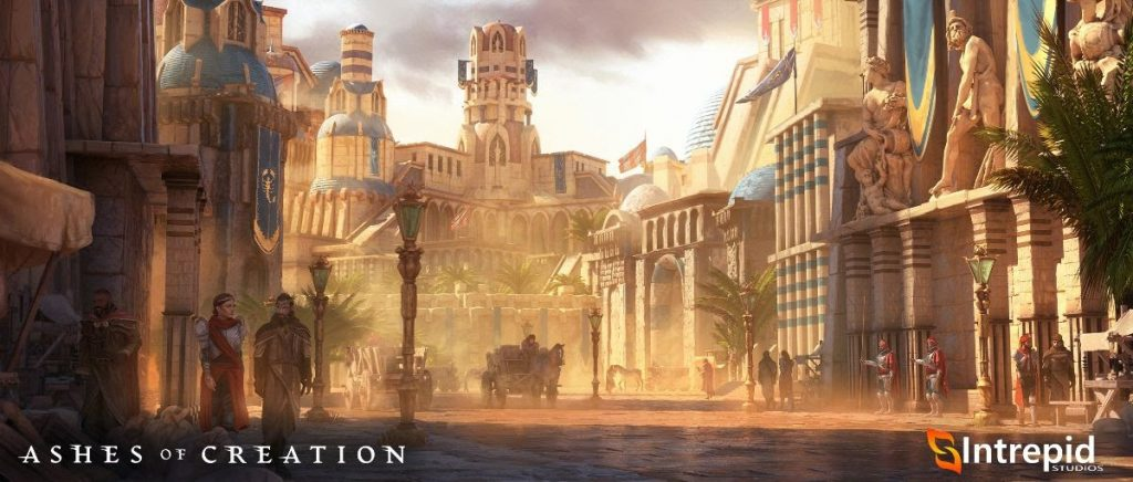 Ashes of Creation Stadt Teaser
