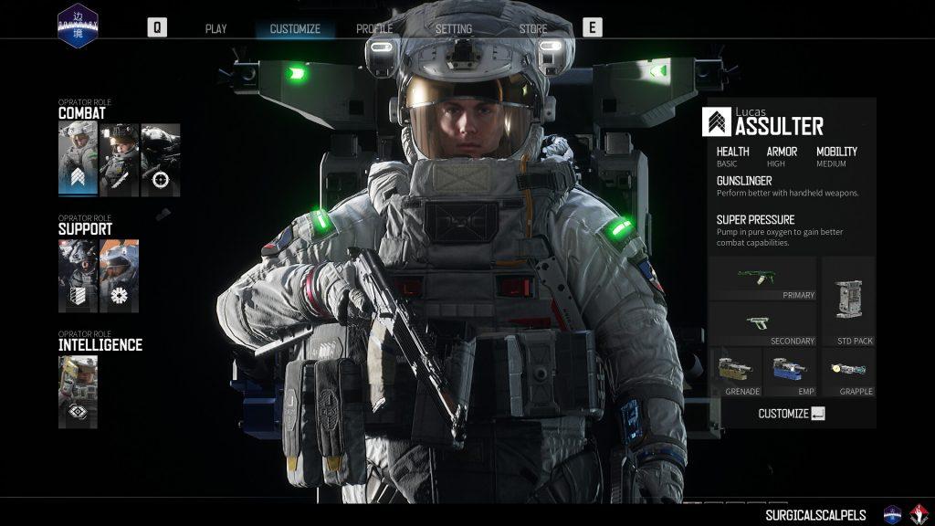 Boundary Screenshot Charakter