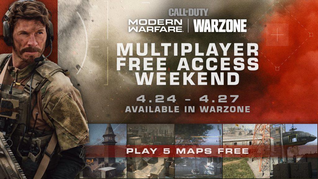 Call of Duty MW kostenlos April