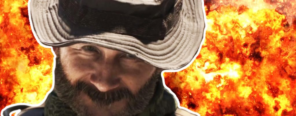 Call of Duty Warzone Modern Warfare Captain Price Feuer Titel