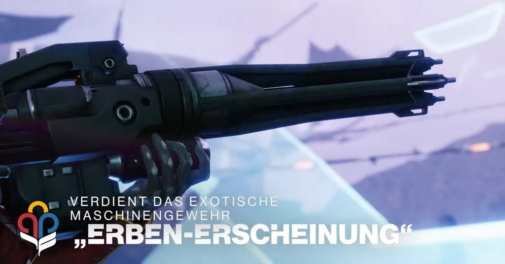 Destiny 2 Maschinengewehr Erben-Erscheinung