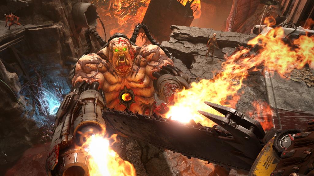 Doom Eternal Dämon Kampf
