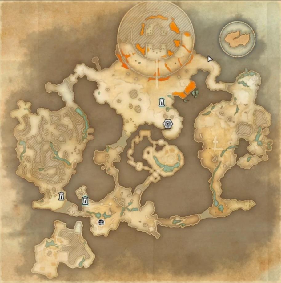 ESO Karte Blackreach