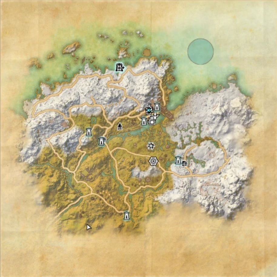 ESO Karte Greymoor
