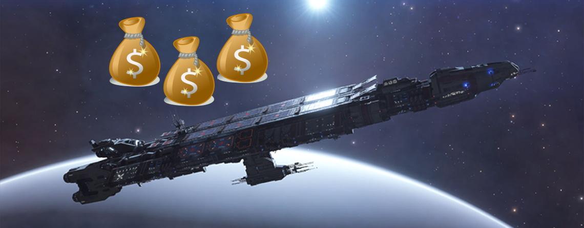 Elite Dangerous bekommt riesige, teure Raumschiffe – Spieler haben gewagten Plan