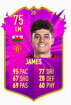 FIFA 20 Future Stars James