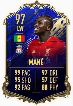 FIFA 20 mane