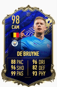 FIFA 20 de Bruyne