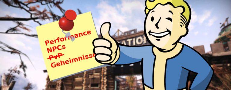 Fallout 76 5 Dinge Rückkehr Titel