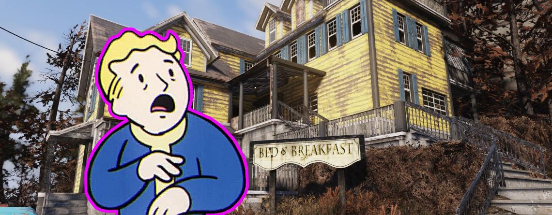 Wenn ihr neu in Fallout 76 seid, schlaft auf keinen Fall in diesem Hotel