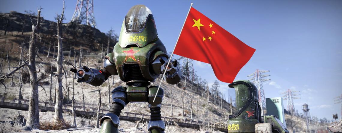Kommunistischer Roboter in Fallout 76 überschüttet Spieler mit Propaganda
