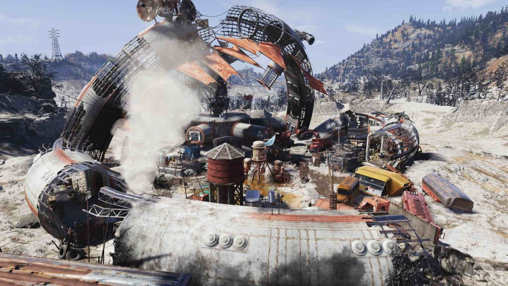 Fallout 76 Crater Screenshot