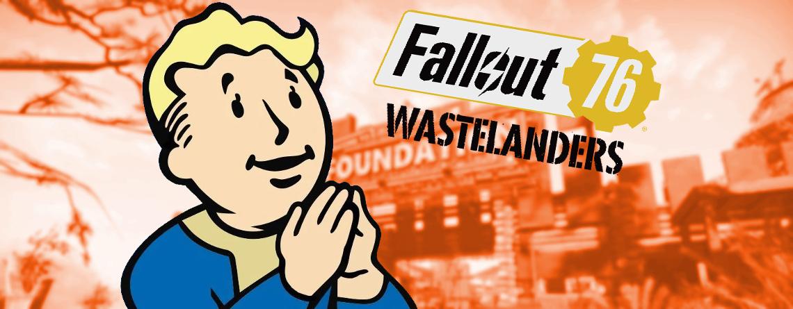 Fallout 76 Wastelanders: Das sind eure Wünsche & Hoffnungen für das Riesen-Update