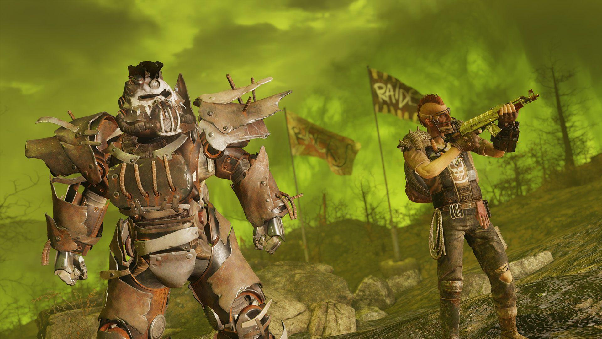 Fallout 76 Raider Rüstung