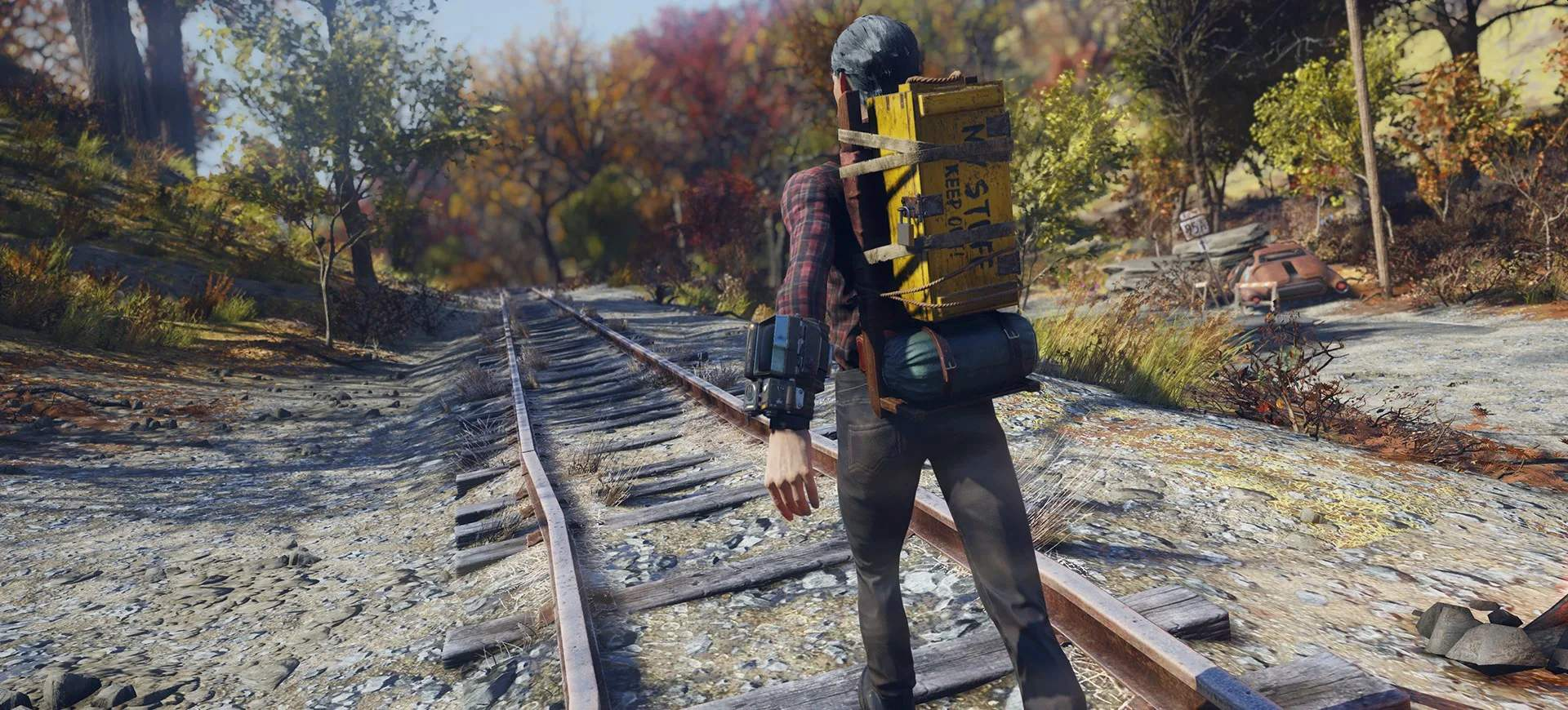 Fallout 76 Rucksack Wanderer