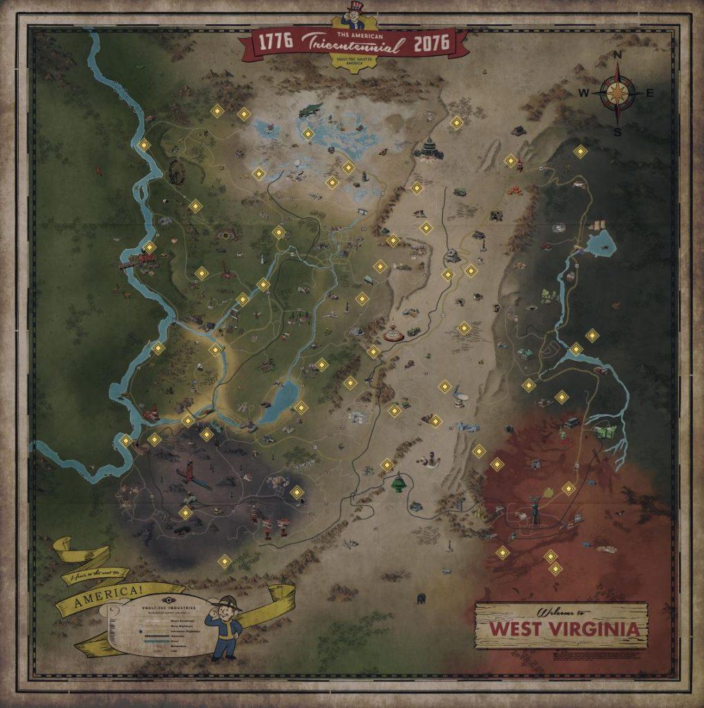 Fallout 76 Siedler Wanderin Punkte