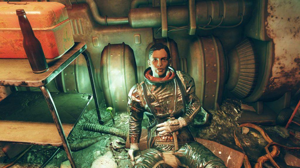 Fallout 76 Sofia Daguerre dans le bunker