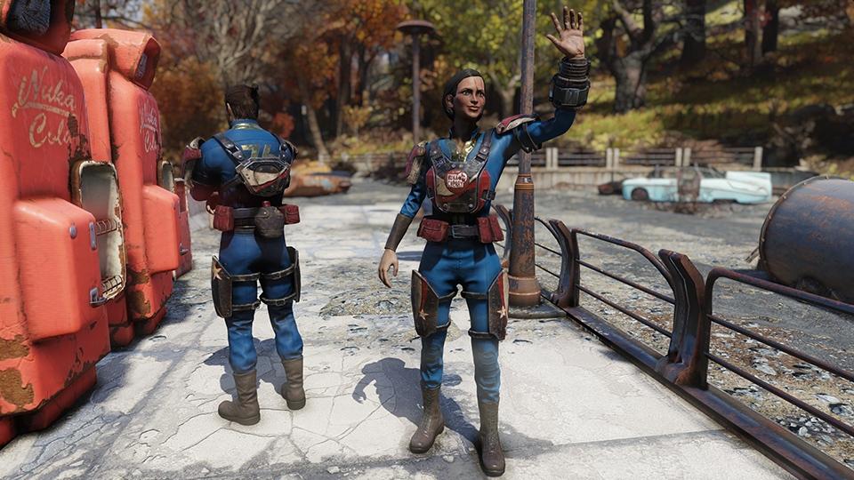 Fallout 76 Vaultbewohner COla Rüstung