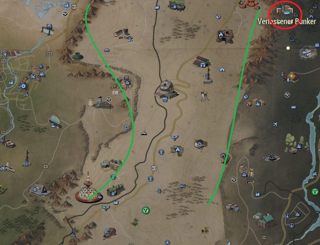 Fallout 76 Verlassener Bunker
