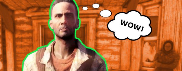 Fallout 76 Wastelanders Daniel NPC Titel 3 wow