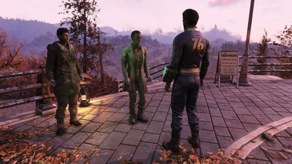 Fallout 76 Wastelanders Erste NPCs