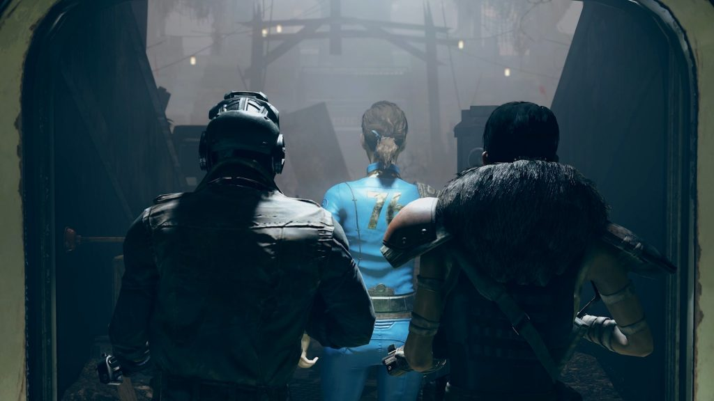 Fallout 76 Wastelanders Eskorte NPC