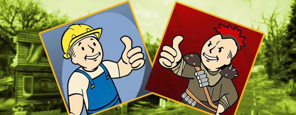 Siedler oder Raider – Welche Fraktion in Fallout 76 passt am besten zu dir?