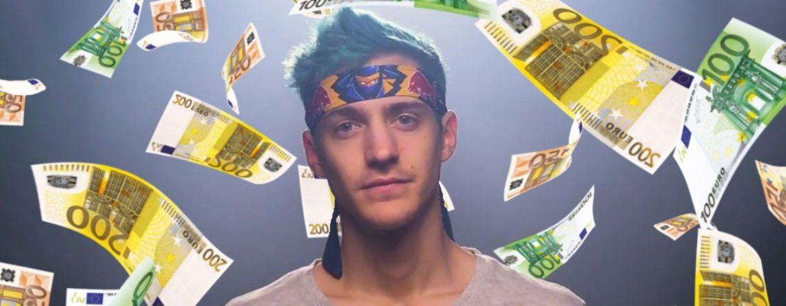 Ninja protzt mit absurdem Reichtum, droht Flamern, sie obdachlos zu kaufen
