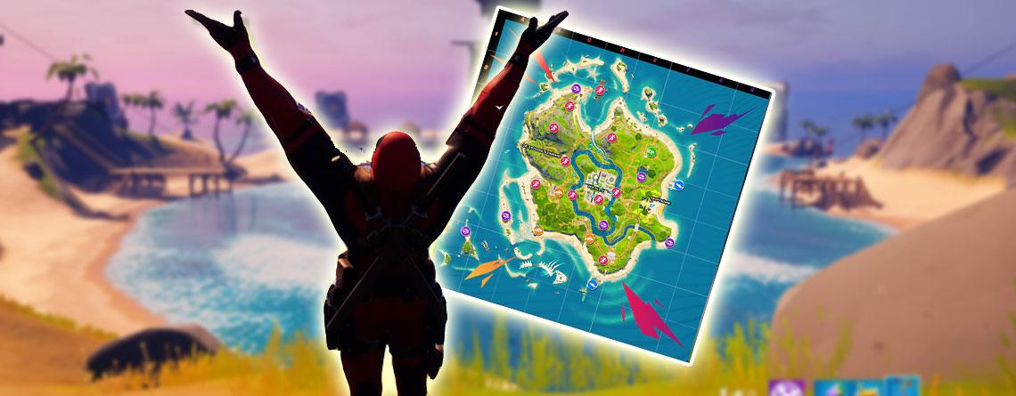 Fortnite bringt neue Map für alle, die spielen, aber nicht kämpfen wollen