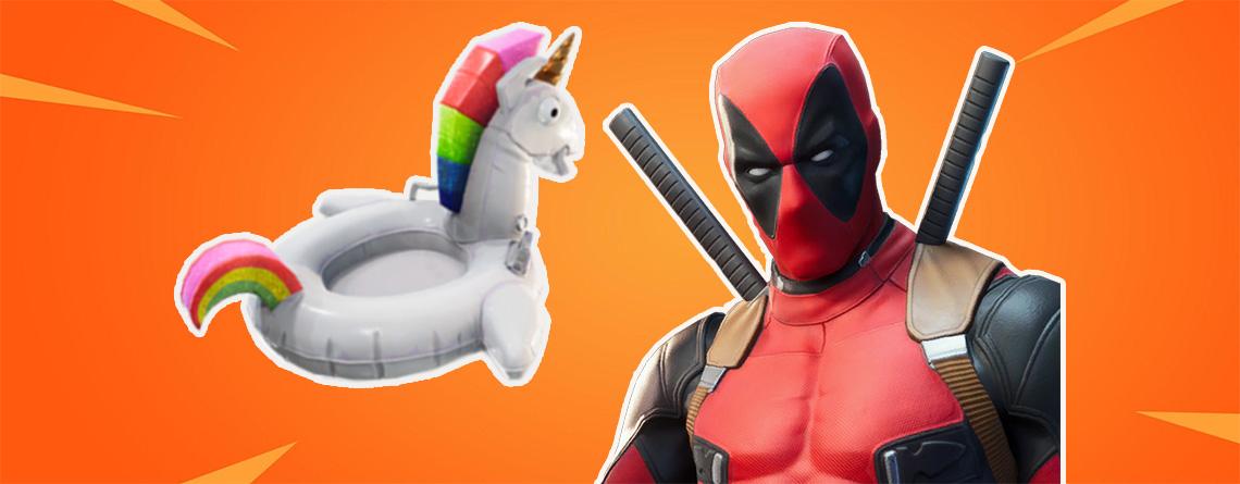 Fortnite: Deadpool Woche 8 – Schwimmhilfe finden und Skin-Variante freischalten