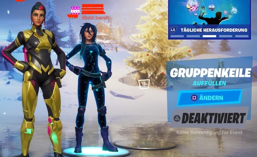 Fortnite-splitscreen-beide-in-lobby