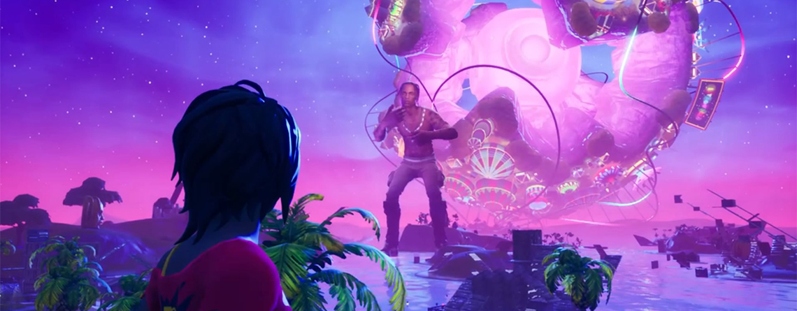 Fortnite: Das Live-Event mit Travis Scott war episch – Seht es hier