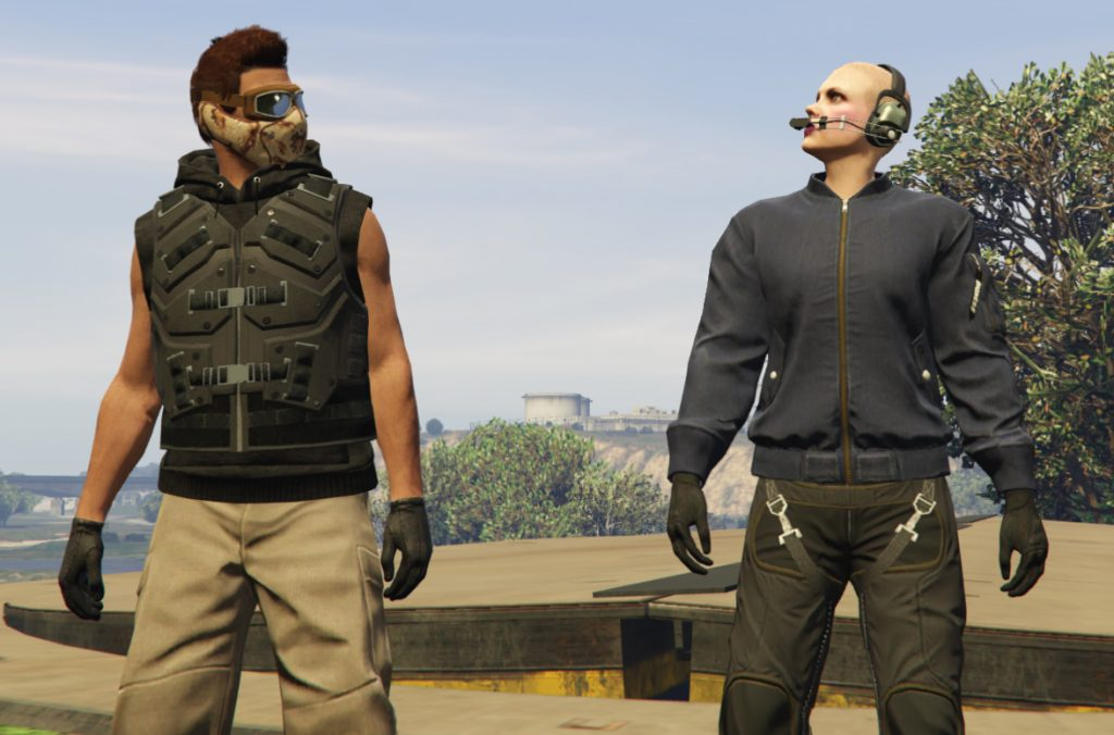 GTA Online Heist ohne Haare