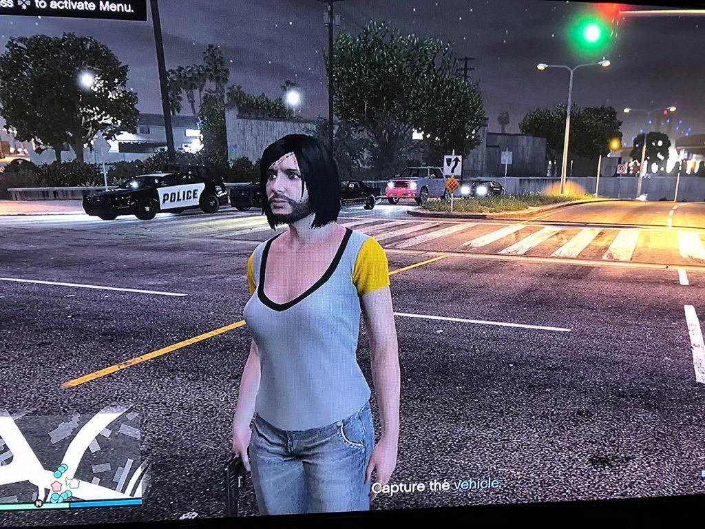 GTA Online Körper Bug Kopf Bart Frau