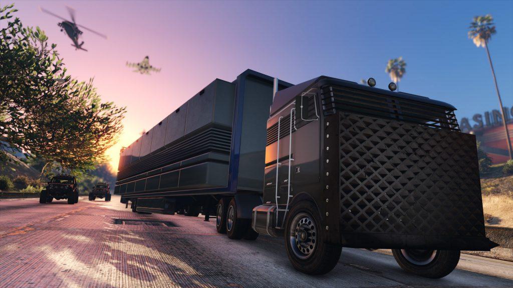 GTA Online Mobile Kommandozentrale