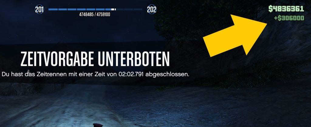 GTA Online Zeitrennen Sägewerk Win
