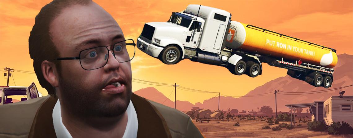 Trick in GTA Online lässt sogar tonnenschwere LKWs durch die Luft fliegen