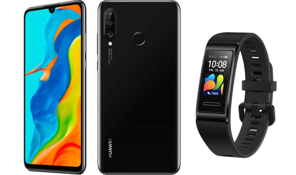 Huawei P30 Lite in der New Edition mit Huawei Band 4 Pro