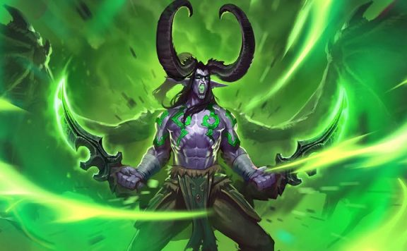 Hearthstone Ashes of Outlands Illidan titel
