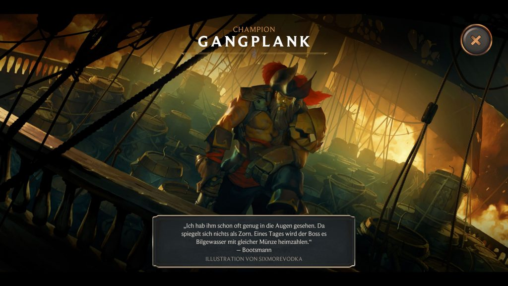 Legends of Runeterra GangPlank