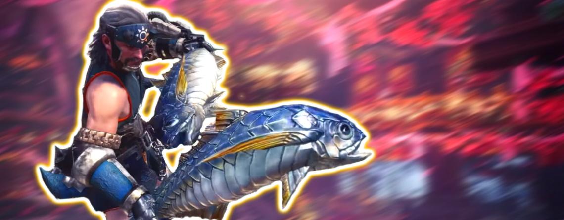 Neues Event in Monster Hunter World bringt wirklich witzige Waffe