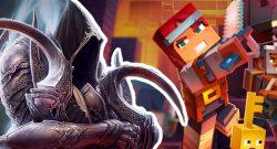 Minecraft Dungeons VS Diablo 3 Titel