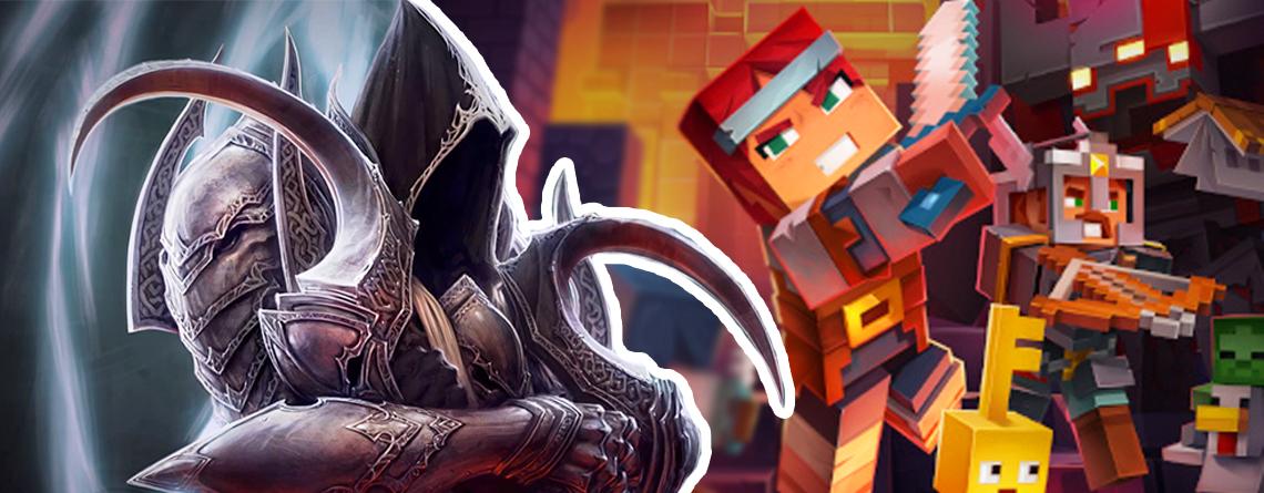 5 Dinge, die Minecraft Dungeons anders als Diablo 3 macht