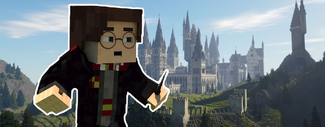 """Das Minecraft """"Harry Potter""""-RPG ist jetzt da, so seid ihr dabei"""