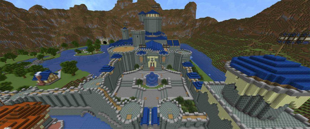 Minecraft-Stormwind-Burg