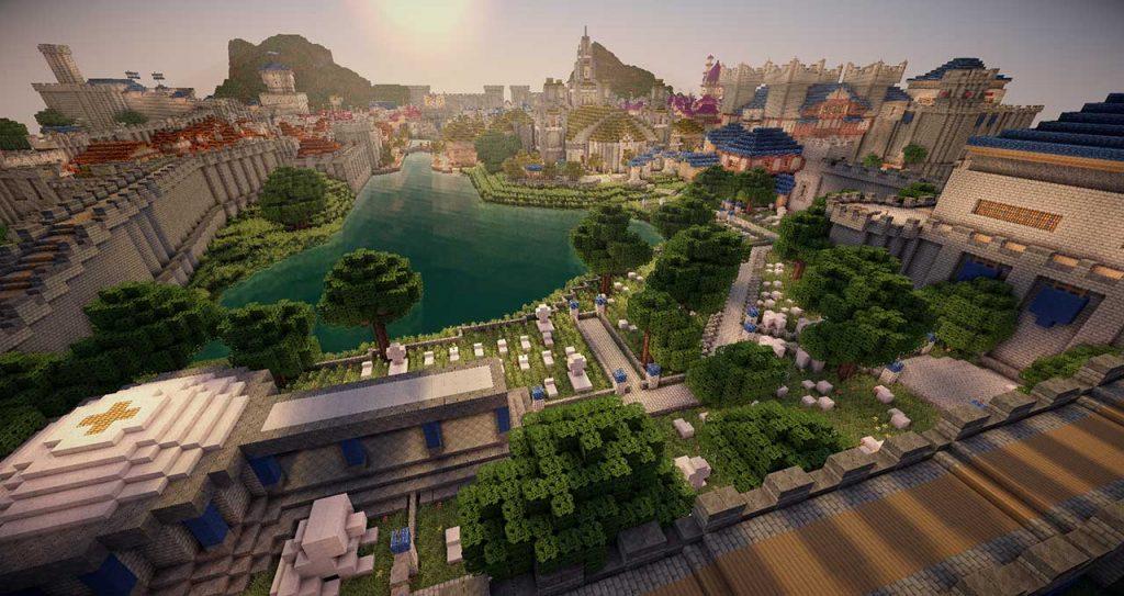 Minecraft-Stormwind-Friedhof