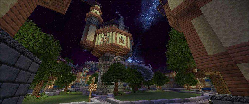 Minecraft-Stormwind-Magierturm
