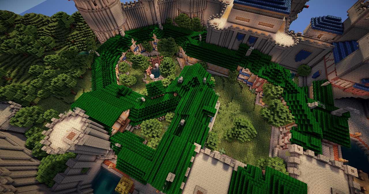 Minecraft-Stormwind-Park