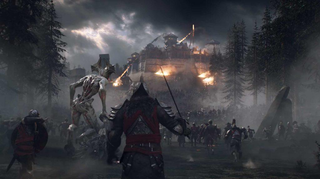 New World Corrupted Festung Belagerung