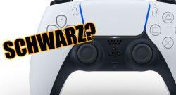 PS5 dualsense controller schwarz header